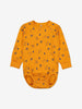 Forest Friends Baby Bodysuit-Unisex-6m-12y-Yellow
