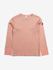 Striped Kids Top-Girl-1-6y-Pink
