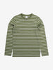 Striped Kids Top-Unisex-6-12y-Green