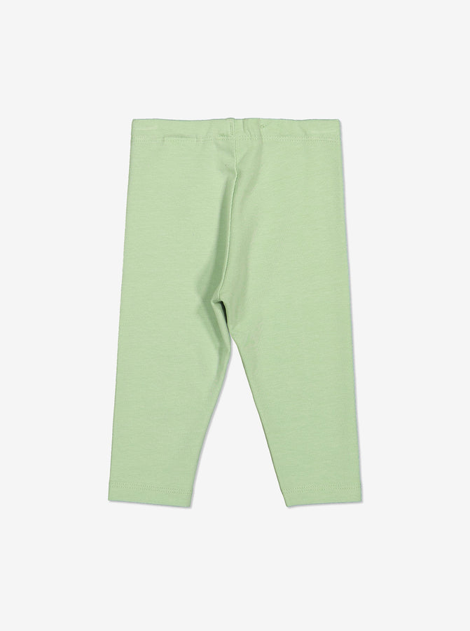 Organic Baby Leggings-Unisex-0-1y-Green