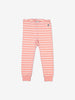 Striped Baby Trousers-Girl-Preterm-2y-Pink