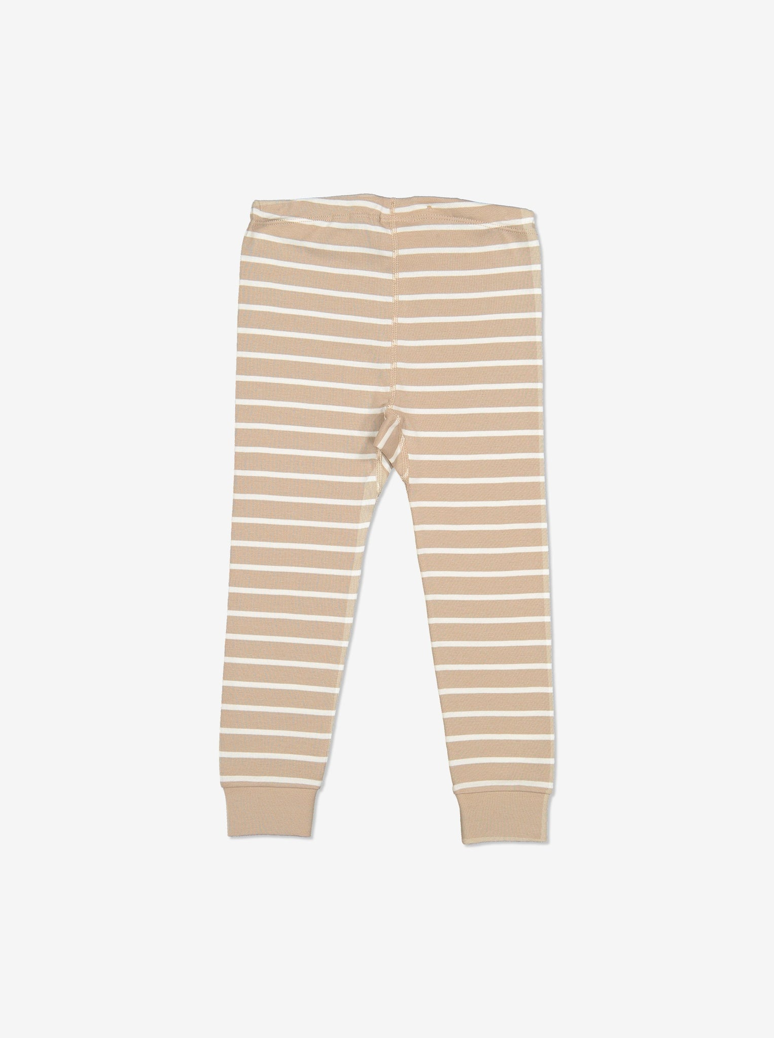 Striped Baby Trousers-Unisex-Preterm-2y-Brown