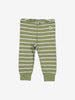 Striped Kids Leggings-Unisex-2m-6y-Green