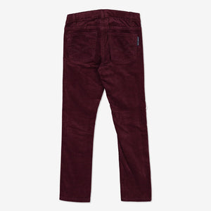 Girls Purple Velvet Kids Trousers 1-6y