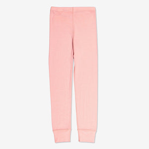 Thermal Merino Kids Long Johns-0-12y-Pink-Girl