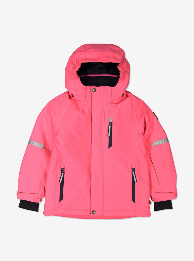 Kids Padded Winter Coat-2-10y-Pink-Girl