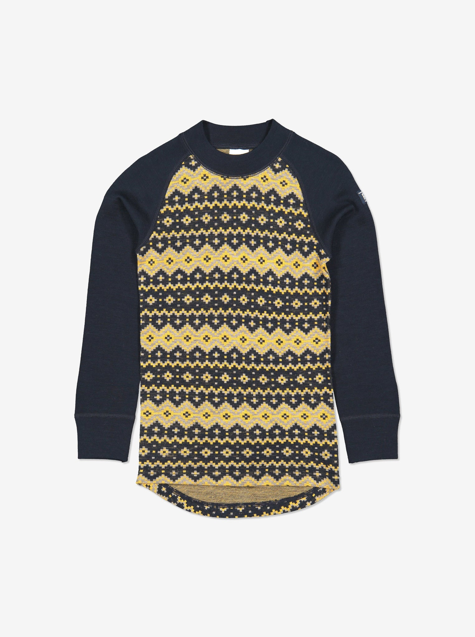 Nordic Thermal Merino Kids Top-1-8y-Navy-Boy
