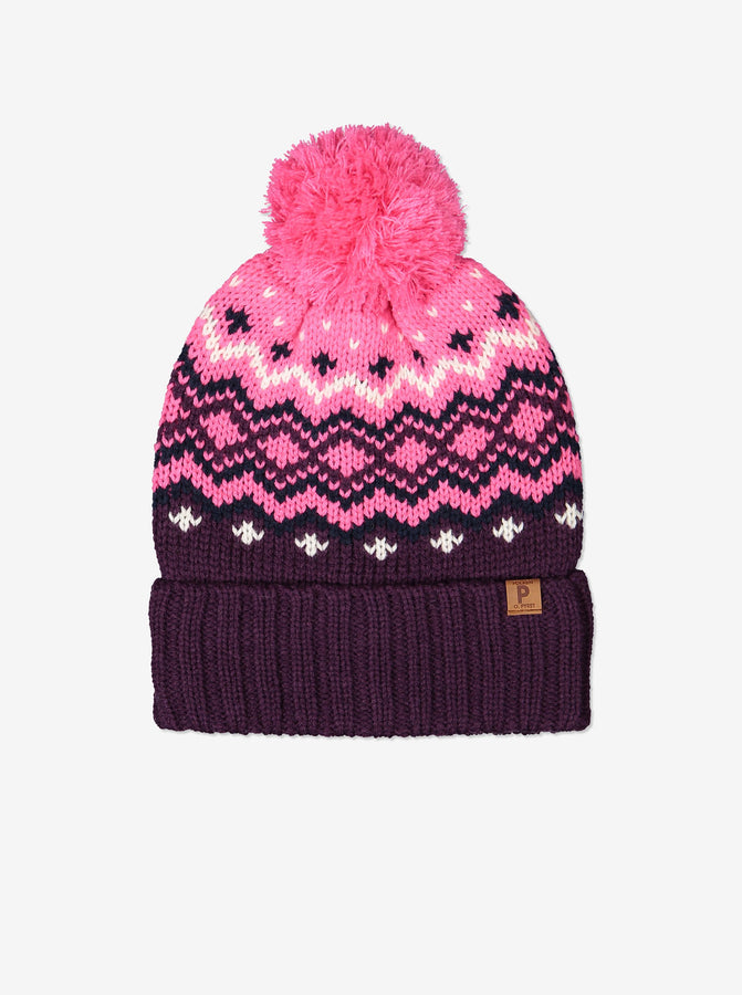 Kids Wool Bobble Hat
