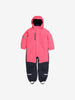 Padded Winter Kids Overall-1-6y-Pink-Girl