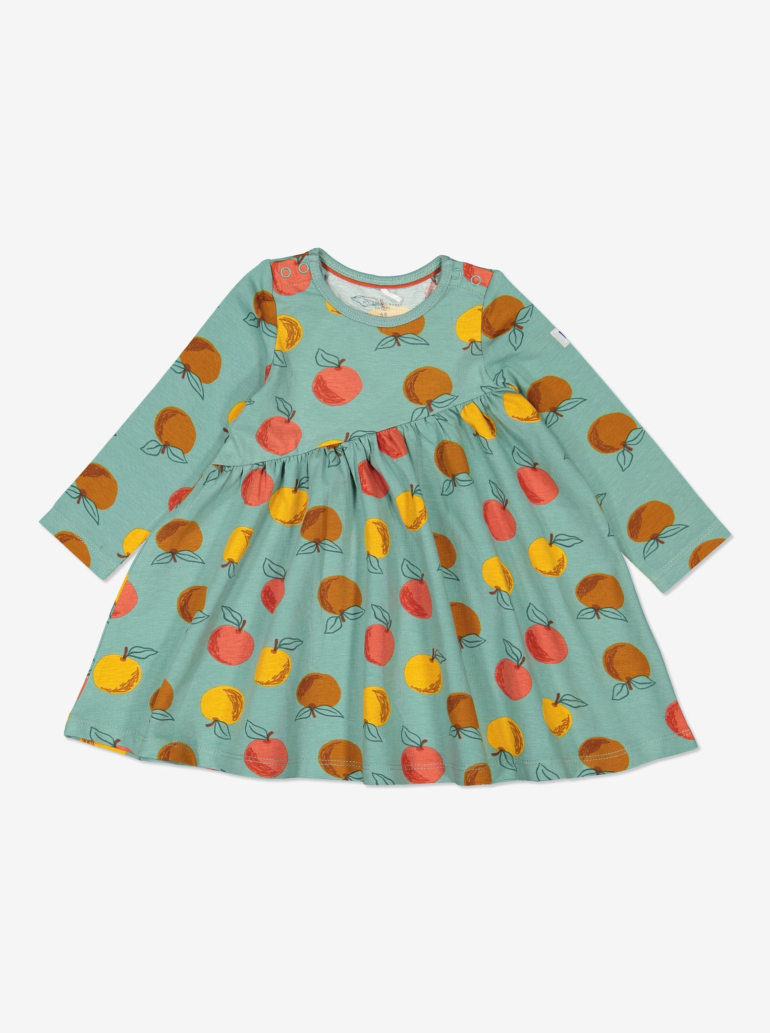 Apple Print Baby Dress