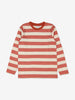Unisex Red Striped Kids Top 1-12y