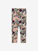 Girls Brown Fawn and Flowers Kids Leggings 1-8y