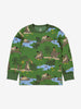 Kids Organic Cotton Jungle Book Pyjamas 1-12years Green Boy
