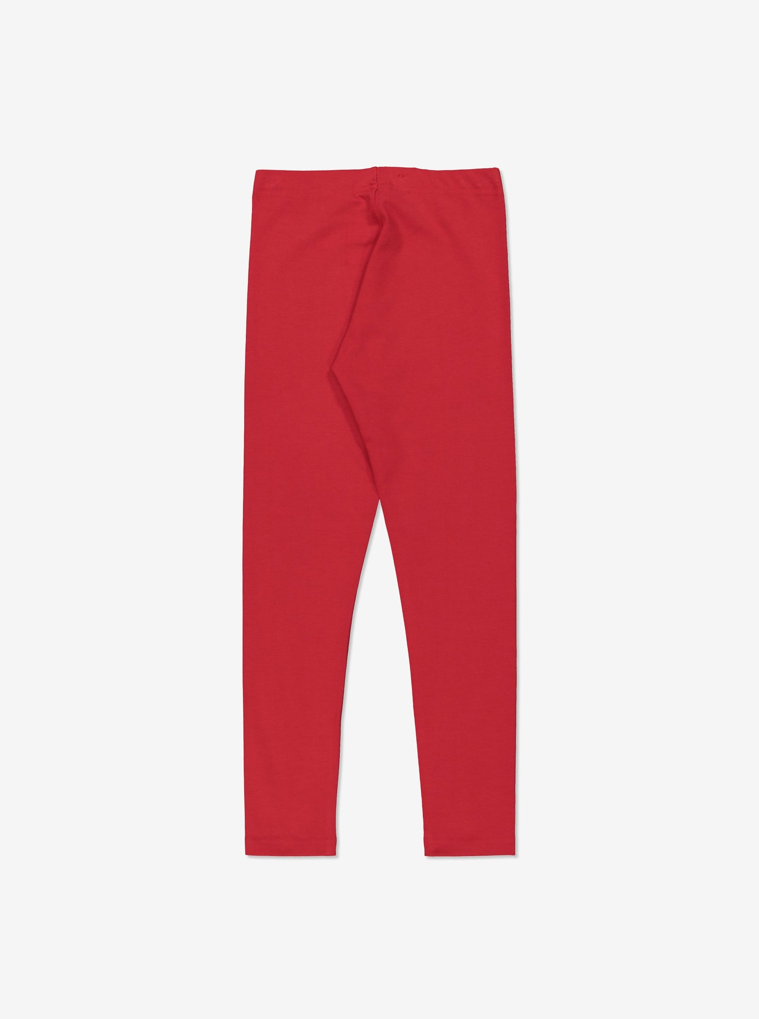 Kids Organic Leggings 1-12years Red Girl