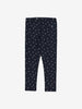 Kids Spotty Leggings 1-6years Navy Girl