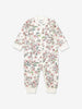 Newborn Baby Organic Cotton Flowery All-in-one