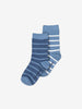 2 Pack Kids Blue Socks