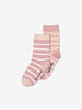 2 Pack Kids Pink Socks