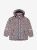 Kids Beige Waterproof Shell Jacket