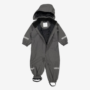 Kids Grey Waterproof Overall
