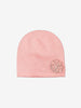 Pink Kids Wool Beanie Hat