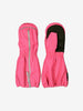 Kids Pink Waterproof Shell Mittens