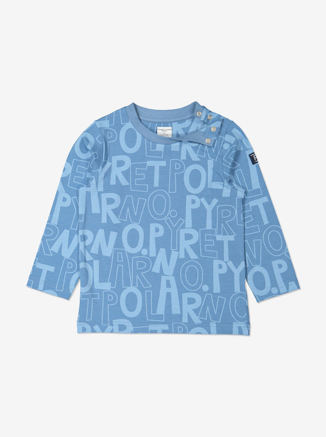 Boys Blue Organic Cotton Kids Top
