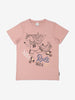 Girls Organic Pink T-Shirt