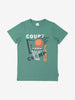 Boys Organic Green T-Shirt