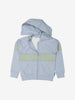 Boys Blue Kids Organic Hooded Jacket