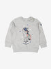 Girls Grey Kids Unicorn Sweatshirt
