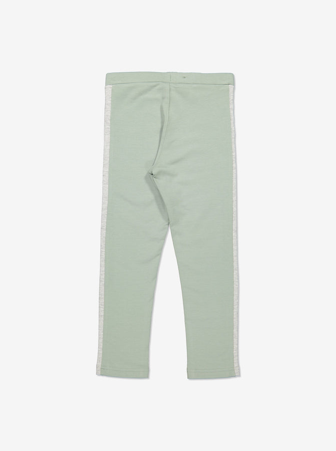 Kids Green Jersey Trousers