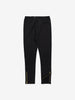 Girls Organic Cotton Black Leggings