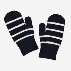 Kids Navy Magic Mittens