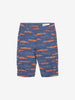 Boy Blue GOTS Organic Car Print Shorts