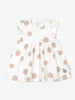 Girl Natural Striped Baby Dress