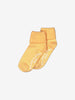 Unisex Yellow 2 Pack Kids Anti-Slip Socks