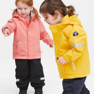 Kids Navy Waterproof Shell Trousers