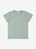Boy Green Plain GOTS Organic Kids T-Shirt