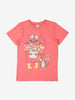 Girl Beige Kids Organic T-Shirt
