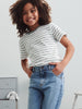Kids Organic Striped T-Shirt