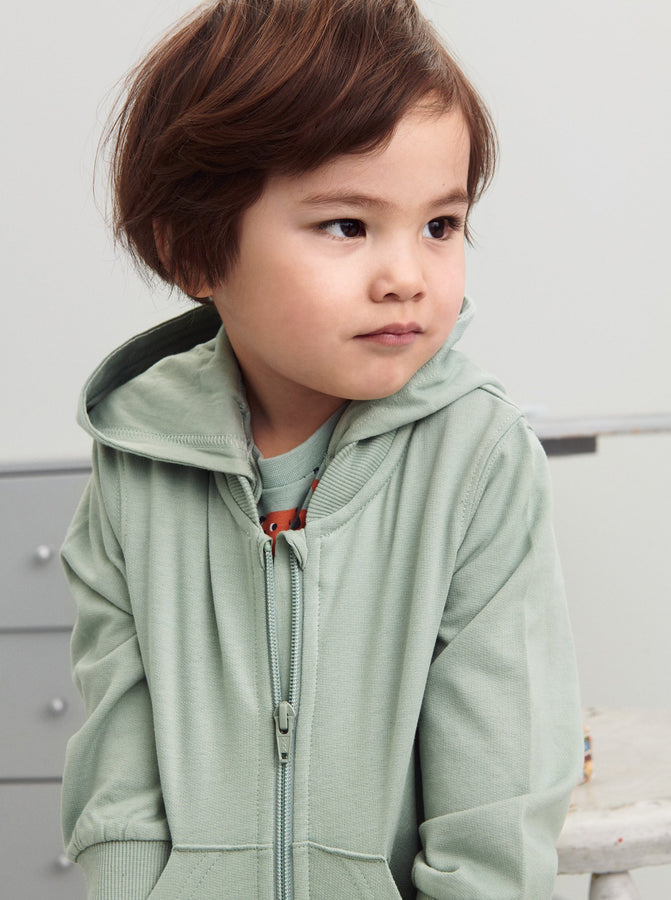 GOTS Organic Kids Hooded Jacket
