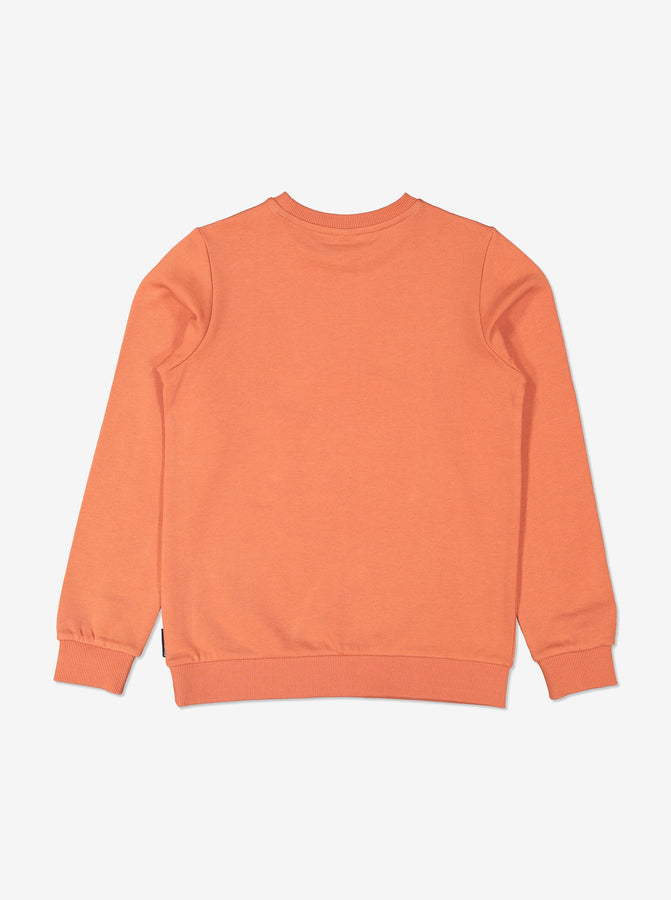 Boy Orange Kids GOTS Organic Sweatshirt