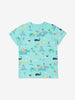 Boys Blue Gots Organic Kids Ice Cream T Shirt