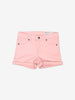 Girls Pink Shorts woven solid School