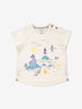 Girls Natural Newborn Baby Organic Summer T Shirt