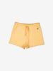 Unisex Yellow Soft Organic Cotton Newborn Baby Shorts