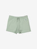 Unisex Green Soft Organic Cotton Newborn Baby Shorts