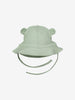 Boys Green Newborn Baby Sunhat with Ears