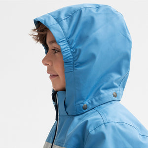 Waterproof Kids Long Shell Jacket